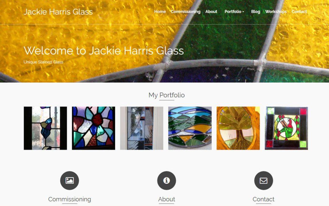 Jackie Harris Glass