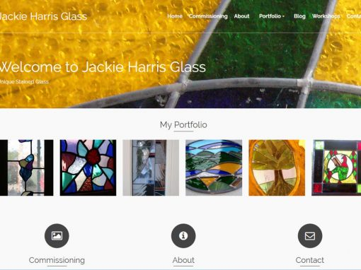 Jackie Harris Glass