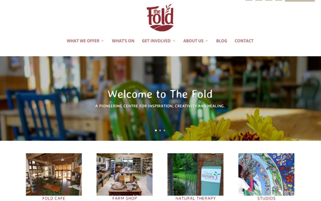 The Fold - redesigned website