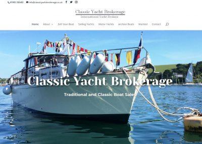 Classic Yacht Brokerage